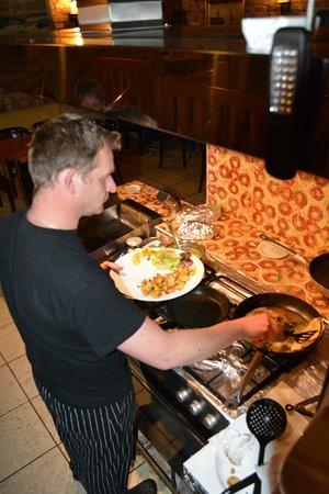 Koelpinsee, Alemanha: Der Koch bereitet alle Speisen frisch zu