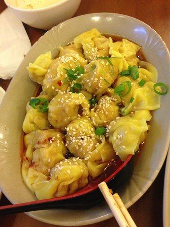 Empress of China: Seamed dumplings