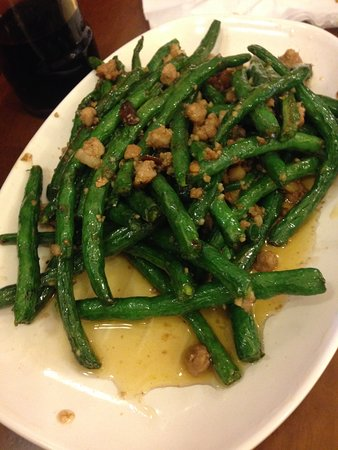 Empress of China: Green beans with pork