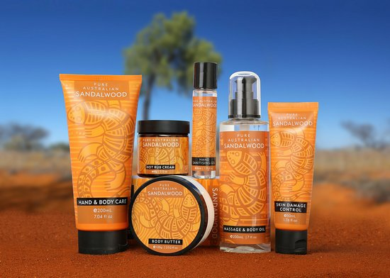 A range of beauty, hair & skin care products formulated