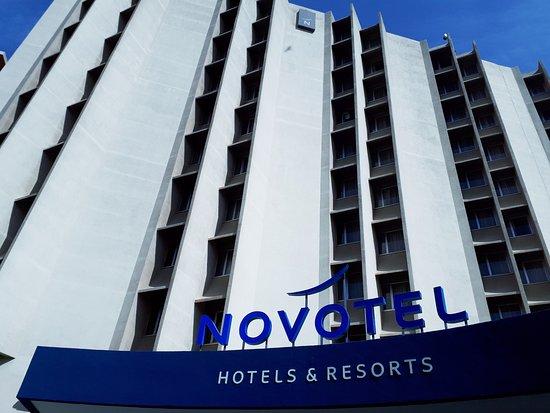 Novotel Dakar: Façade Novotel