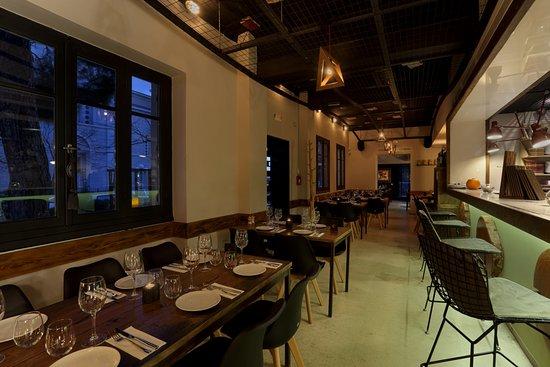 Chapter Restaurant: indoor space