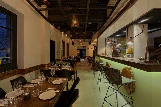 Chapter Restaurant: bar indoors