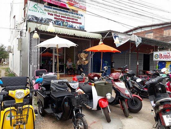 Sukhothai Province, Thailand: Green e bike sukhothai