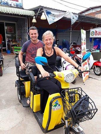จังหวัดสุโขทัย, ไทย: Green e bike sukhothai-three wheels electric bike