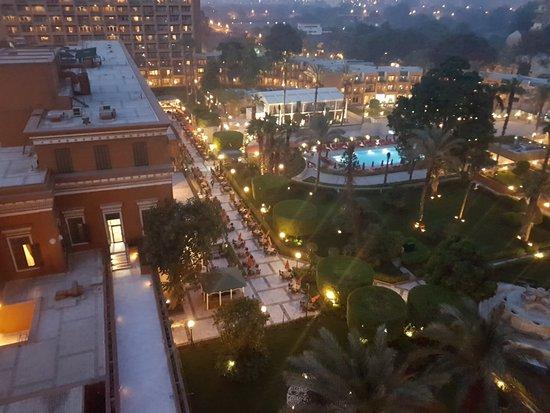 Cairo Marriott Hotel & Omar Khayyam Casino: to the garden