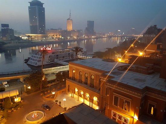 Cairo Marriott Hotel & Omar Khayyam Casino: Nile view