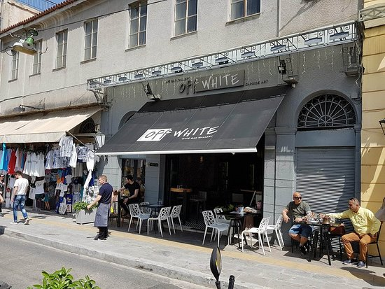 OFF WHITE Cafe Gallery: φώτο