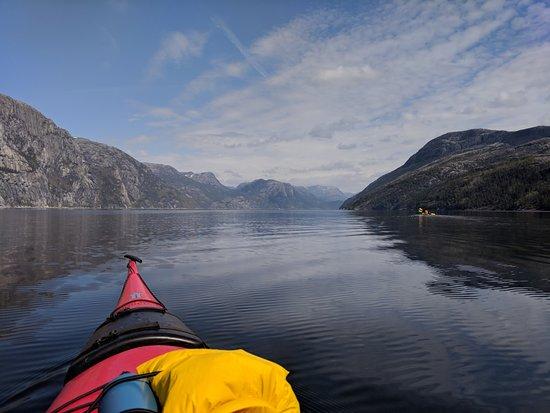 Jorpeland, Norway: Lysefjorden