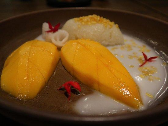 how to make mango sticky rice sauce
