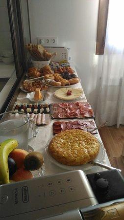 Parres, Ισπανία: Desayuno incluido