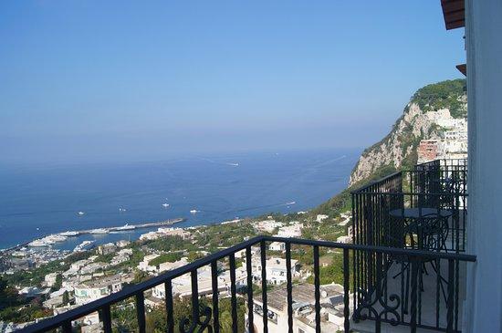 Albergo La Prora: sea view from room's balcony