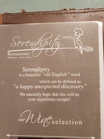 Serendipity Restaurant Foto