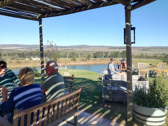Stanford, South Africa: Divine views and outdoor seating