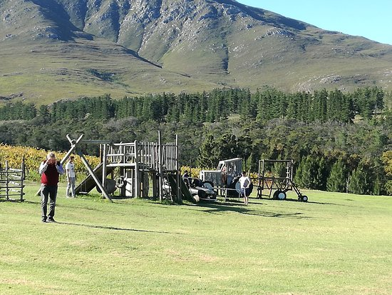 Stanford, South Africa: Great play area