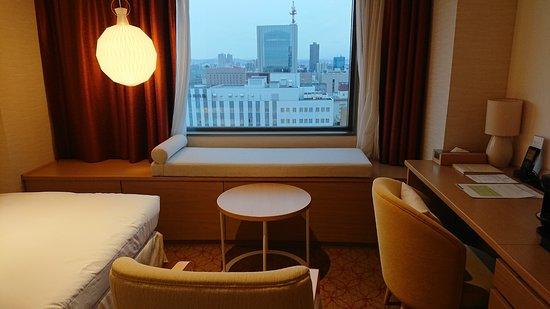 Keio Plaza Hotel Sapporo: 部屋から見える景色