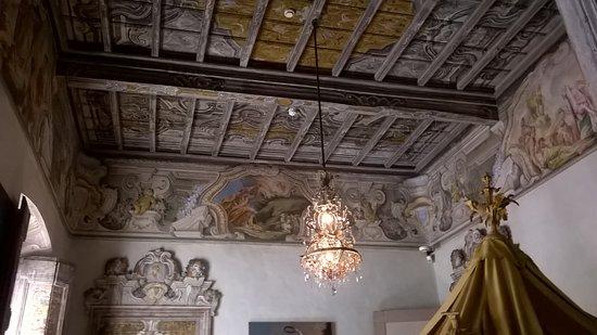 Казальцигно, Италия: Soffitto Camera da letto