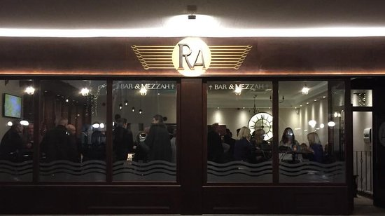 Southport, UK: RA Bar, how we look from outside.