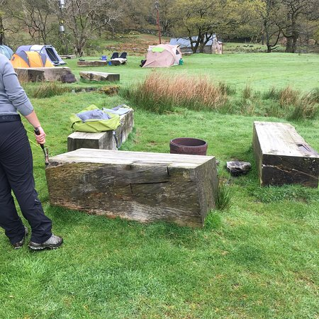 Nant Gwynant, UK: Hafod y Llan Campsite
