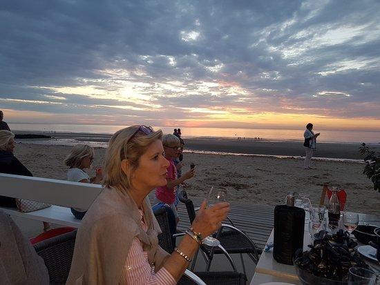 Blonville sur Mer, France: Sunset
