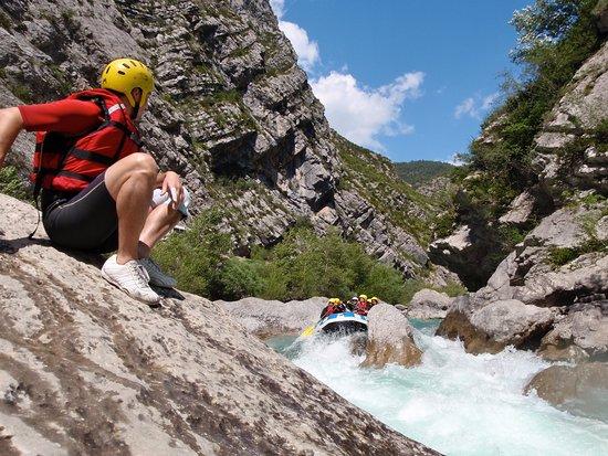 Saint Andre Les Alpes, ฝรั่งเศส: Rafting dans les gorges du Verdon