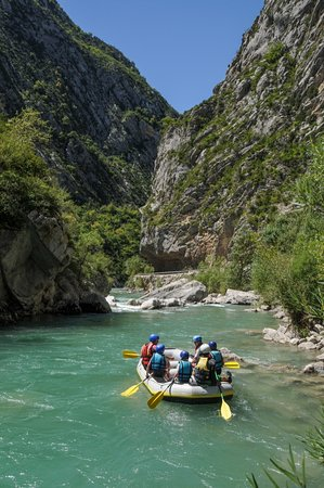 Saint Andre Les Alpes, Frankrike: Rafting dans les gorges du Verdon