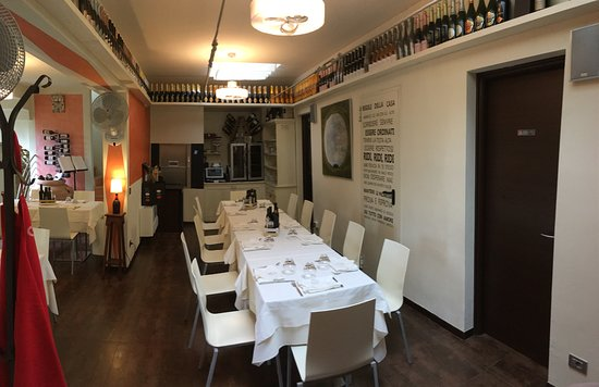 Montisi, إيطاليا: Sala da pranzo