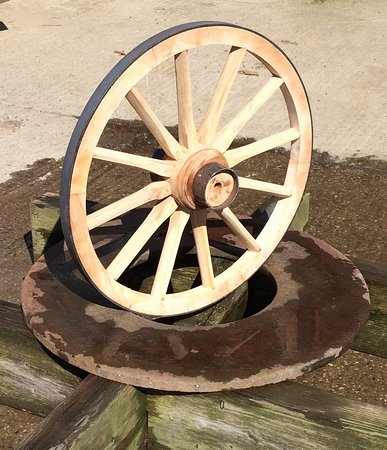 Gayle, UK : Finished Wheel