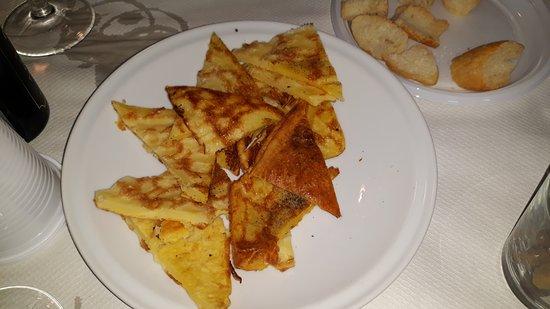 Borgomaro, Italia: Pianata di ceci fritta