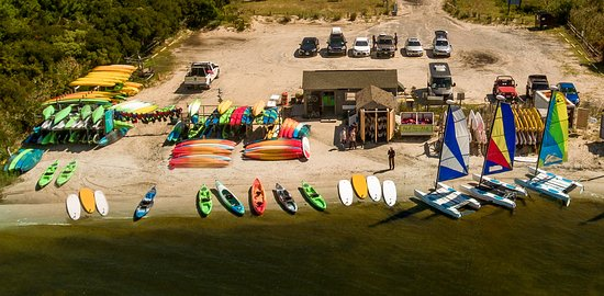 Fenwick Island, DE: Whether you are kayaking, paddle boarding or sailing it is an easy launch from Coastal Kayak's b