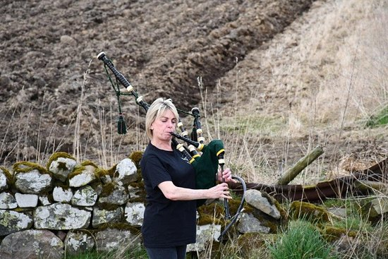 Aberdeenshire Highland Beef Bagpipes