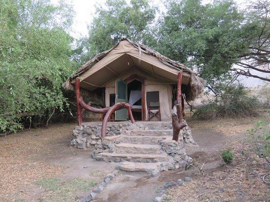 Lake Natron Tented Camp: Notre chambre