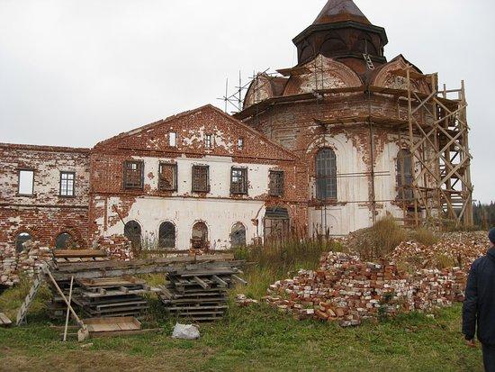 Ostrov Anzerskiy, Russland: остров Анзер