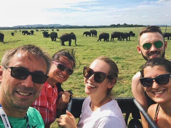 Lanka holidays: Jeep experience in Elephant's resort