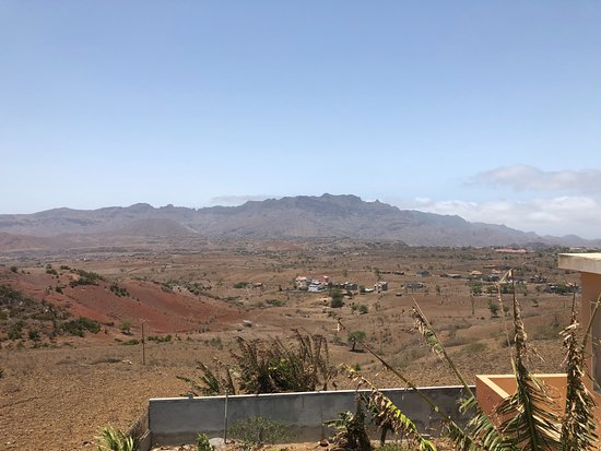 Assomada, Cape Verde: Vue de la terrasse