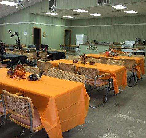 Malakoff, TX: The Cove set up for a special event