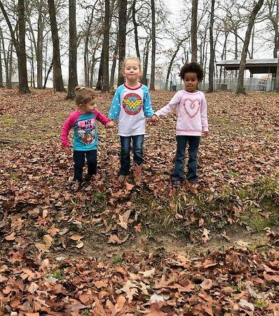Malakoff, تكساس: Camping chums in the fall