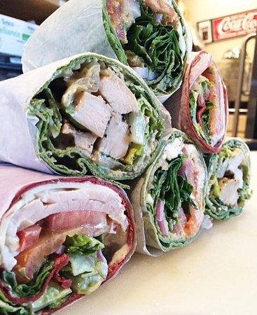 Abbeville, LA: Chicken Caesar Wraps, Turkey and Swiss Wraps, and Veggie Wraps