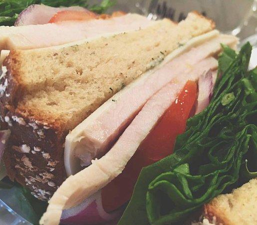 Abbeville, LA: Turkey and Swiss Sandwich