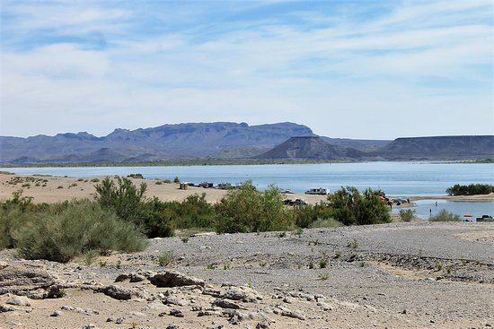 Elephant Butte, NM: view from campsite
