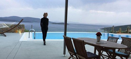 Marmari, Greece: Heerlijk relaxen met uitzicht