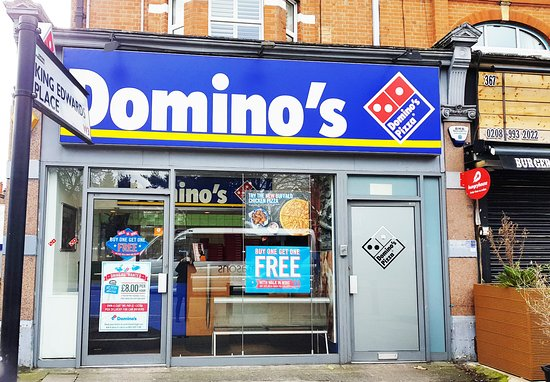 Dominos Pizza London Ealing Common Acton Restaurant