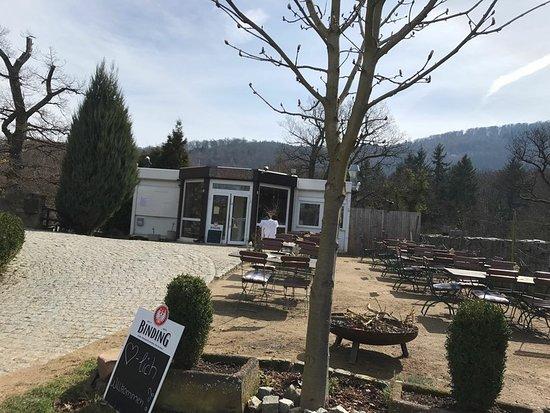 Alsbach-Haehnlein, Germany: Burgschänke außen