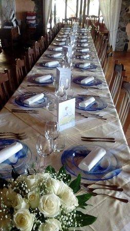 L'Aragosta: banchetto di Comunione