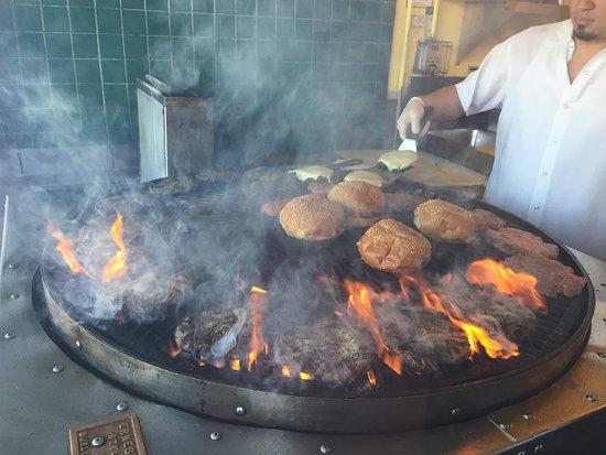 Hamburgers: Cocina