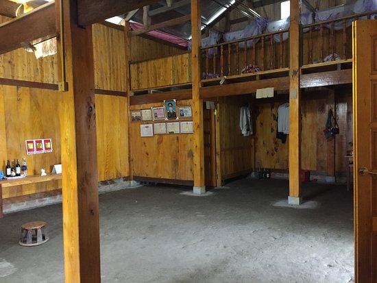 Ta Van, Vietnam: Ground floor of homestay