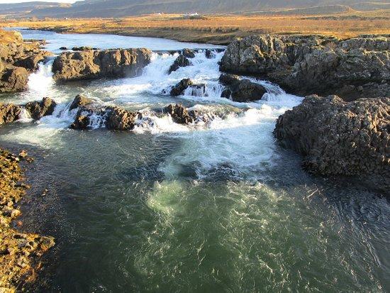 Bifrost, Islanda: Glanni Wasserfall