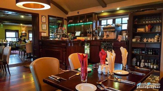 Old Coach Inn: I tavoli e la sala