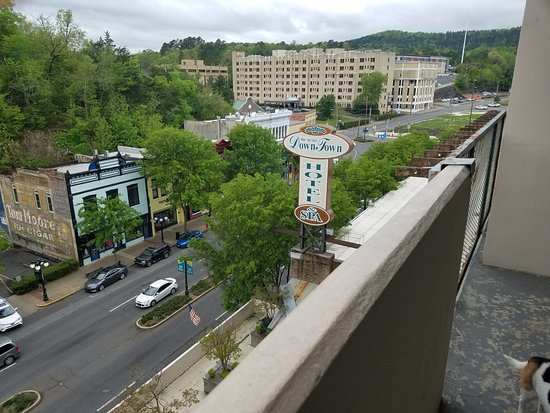 The Springs Hotel & Spa: daytime from our balcony