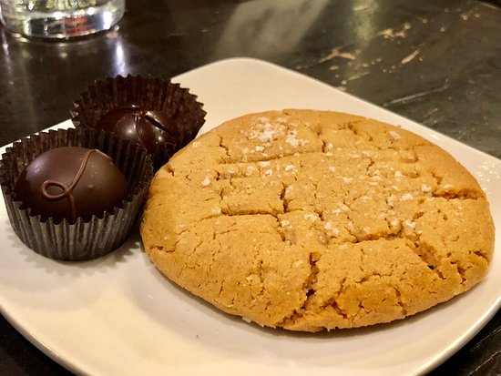 French Broad Chocolate Lounge : Salted Peanut Butter Cookie